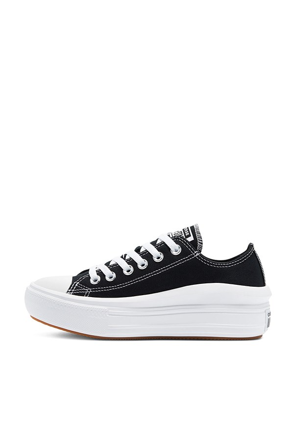 Converse low Black / white / white