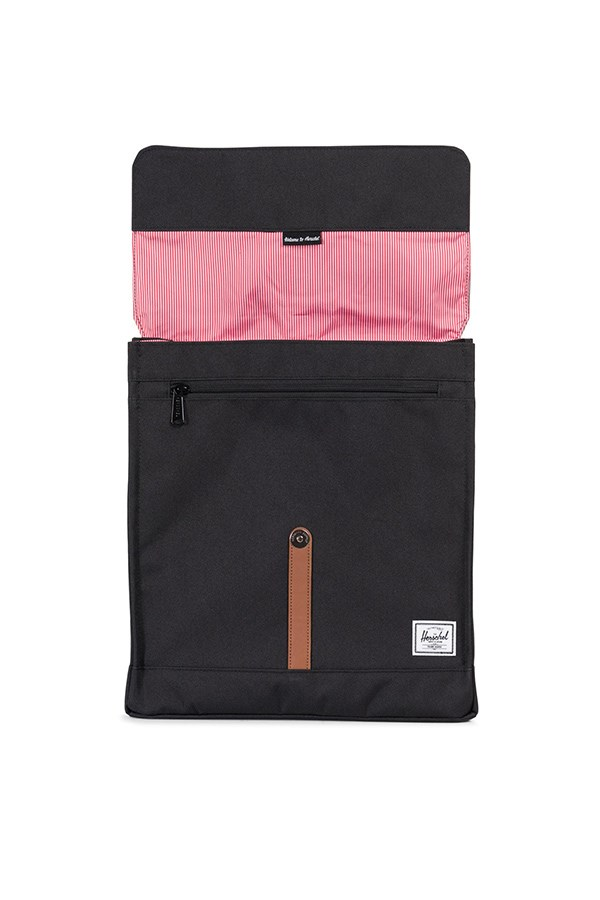 Herschel Backpacks Black / tan Synthetic Leather
