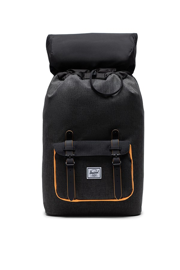 Herschel Backpacks Black Crosshatch / black / blazing Orange