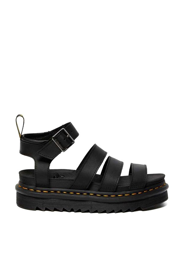 Dr. Martens With wedge Black Hydro Leather