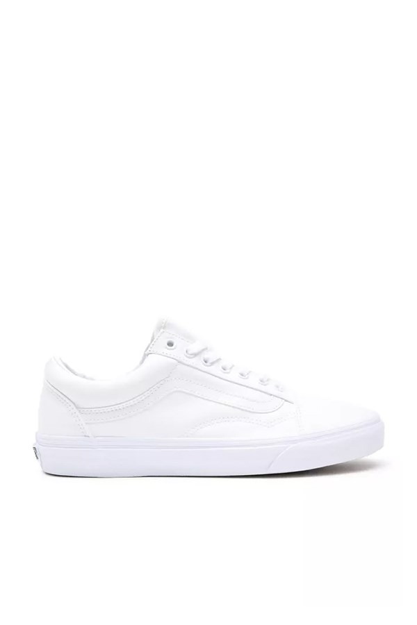 Vans low True White