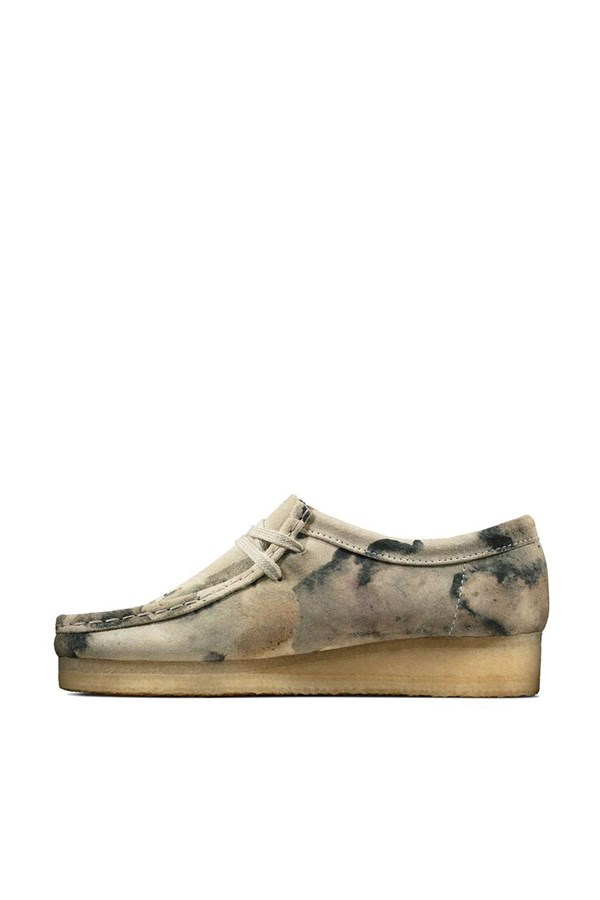 Clarks Loafers Off White Camo
