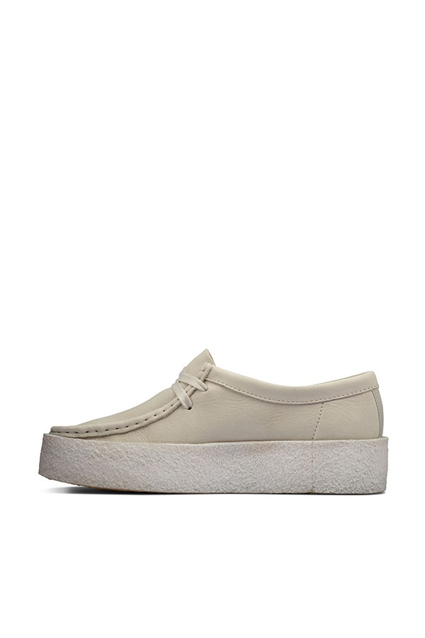 Clarks Loafers White Nubuck