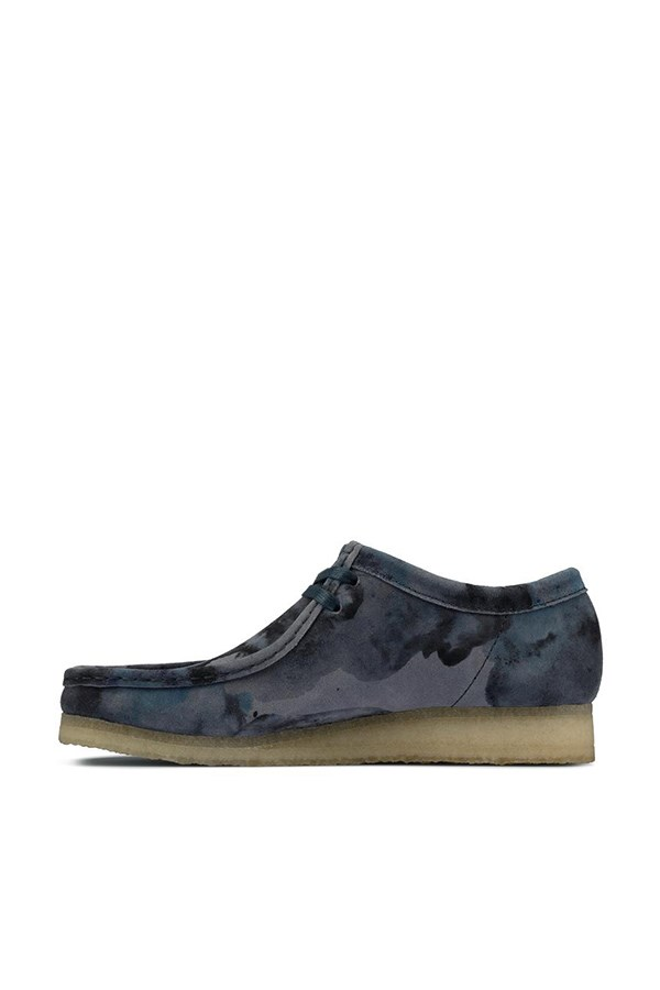 Clarks Loafers Blue Camo