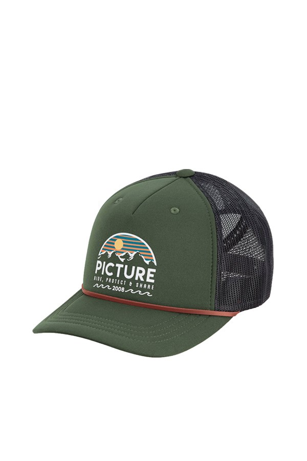 Picture Organic Clothing Baseball Pine Green